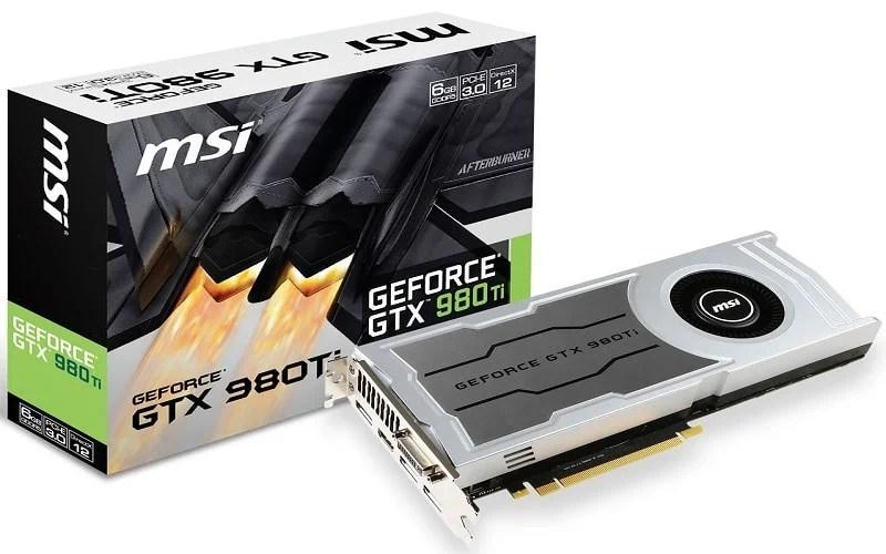msi gtx 980 ti V1 (2)