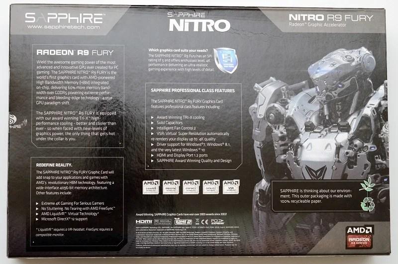 R9 Fury Graphics Card