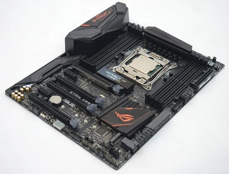 ASUS STRIX X99 Gaming Broadwell-E Motherboard Review
