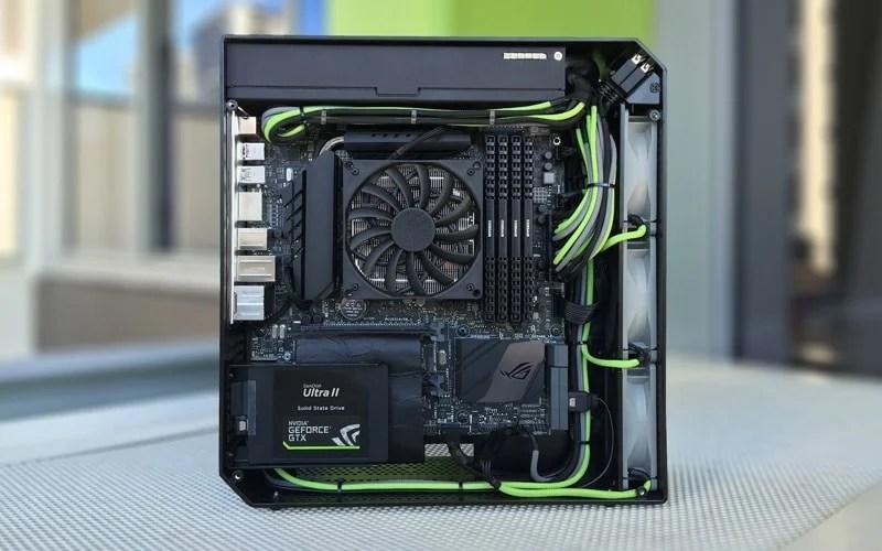 Custom Pc Squeezes Gtx 1080 Sli Into Xbox One Sized Case