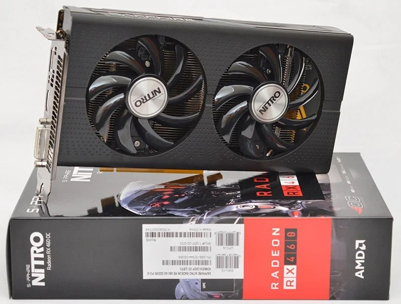Sapphire Nitro RX 460 OC Graphics Card Review