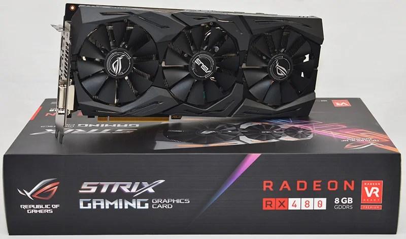 ASUS STRIX GAMING RX 480 OC