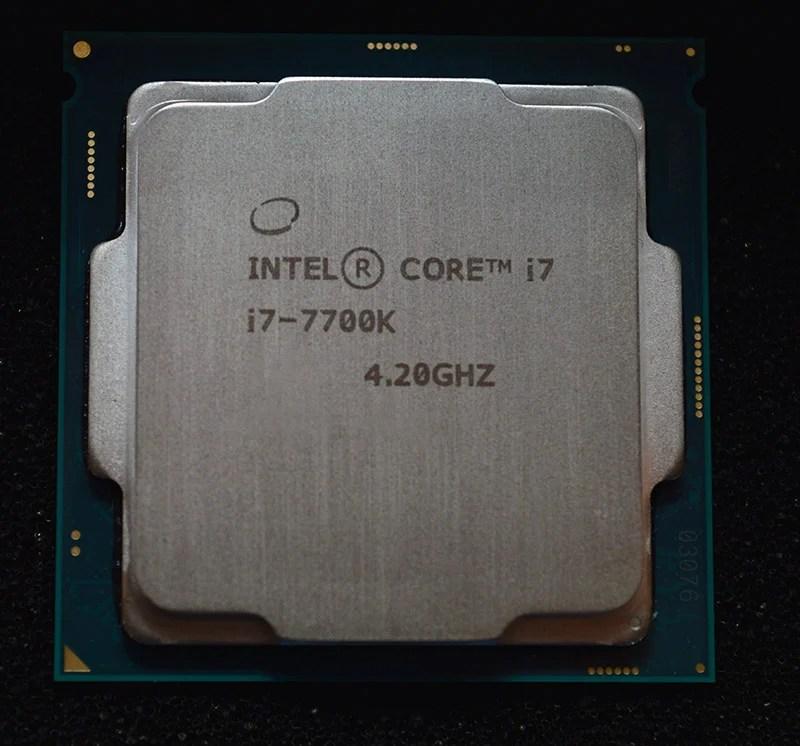 Intel I7 7700k Kaby Lake Delid Benchmarks Se7ensins