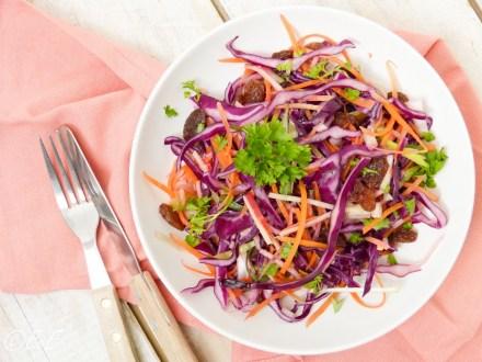 recept voor rode coleslaw