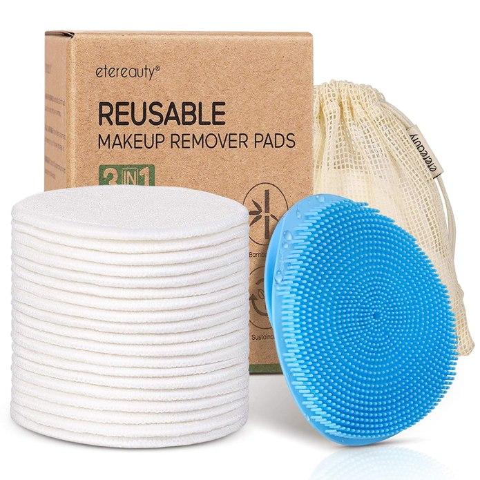 Reusable Cotton Pads For Face Face Scrubber Reusable Makeup Remover Pads Silicone Face Scrubber Set