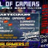 Oggi Domenica 28 Marzo intorno le 18:00 circa ci sarà il 9° appuntamento della Live Talk: Hall Of Gamers!