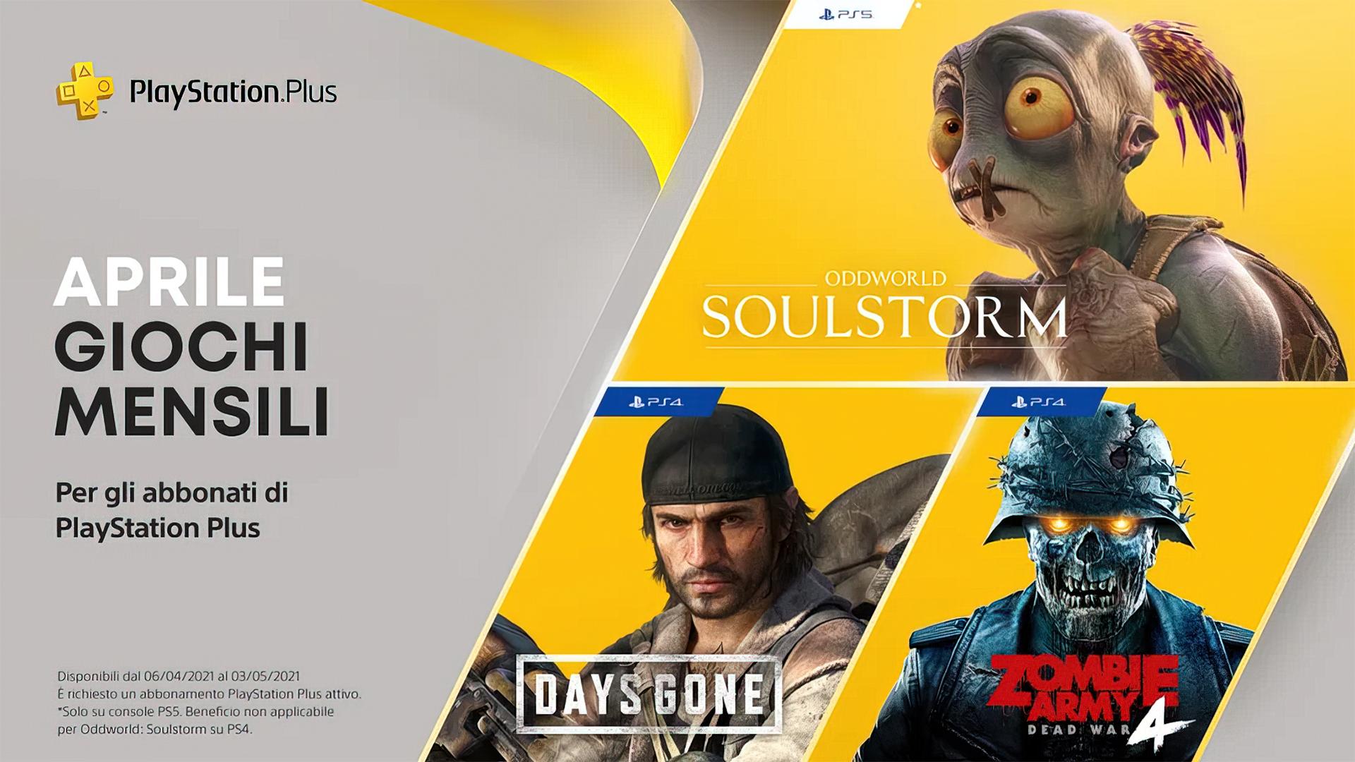 Disponibili al Download i titoli del PlayStation Plus di Aprile!
