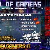 Oggi 11 Aprile intorno le 18:00 circa ci sarà il 10° appuntamento della Live Talk: Hall Of Gamers!
