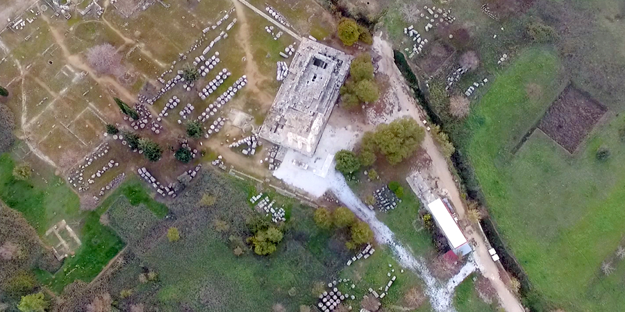 Ancient Nemea - Temple of Zeus Eternal Greece Ltd