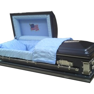 Patriot - USA Flag, Metal, 20 gage - Eternalville Casket Store in El Paso, TX Affordable Caskets for Sale