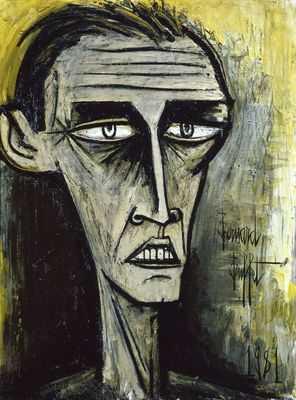 Autoportrait (III), par Bernard Buffet