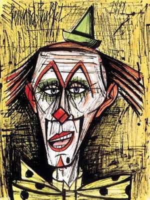 Joyeux clown, par Bernard Buffet