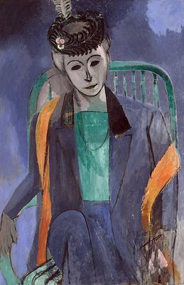 Femme de l'artiste, par Henri Matisse