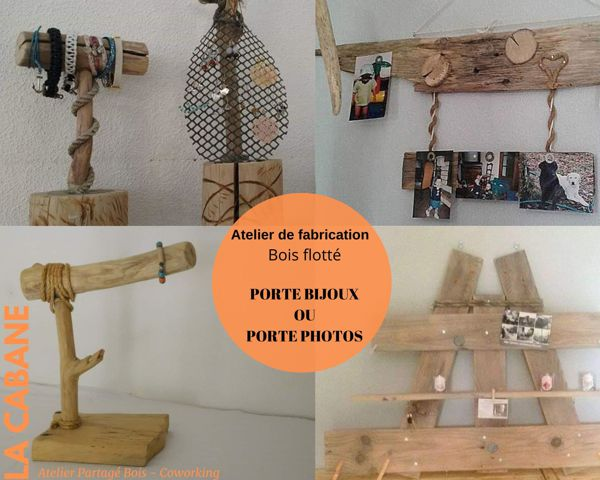 Atelier De Fabrication Bois Flotte Porte Photos Ou Bijoux Gujan Mestras 33470 Artisanat