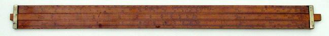 A Navigation Slide Rule c. 1800