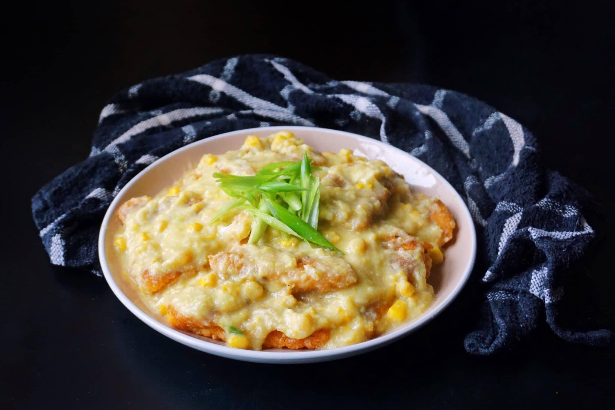 Cantonese Cream Corn Fish Fillet Recipe  粟米斑塊