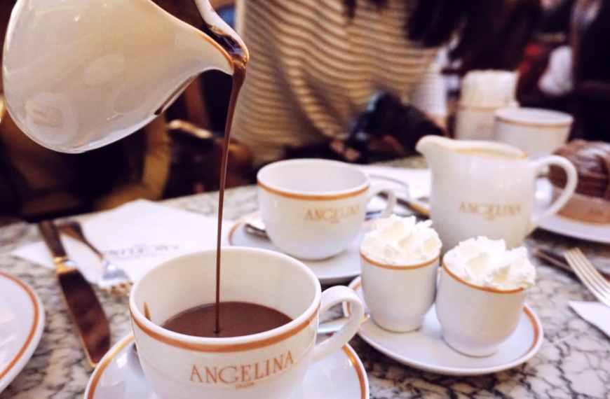 Paris: Angelina Hot Chocolate
