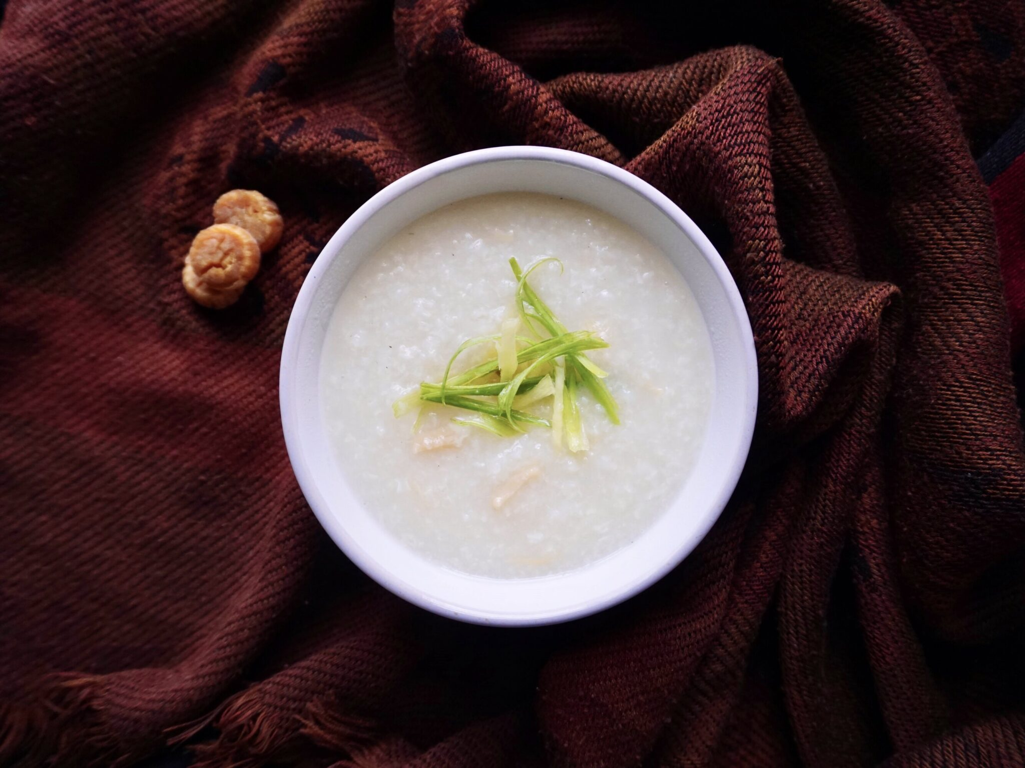 Dried Scallops Congee Recipe (Chinese Rice Porridge)