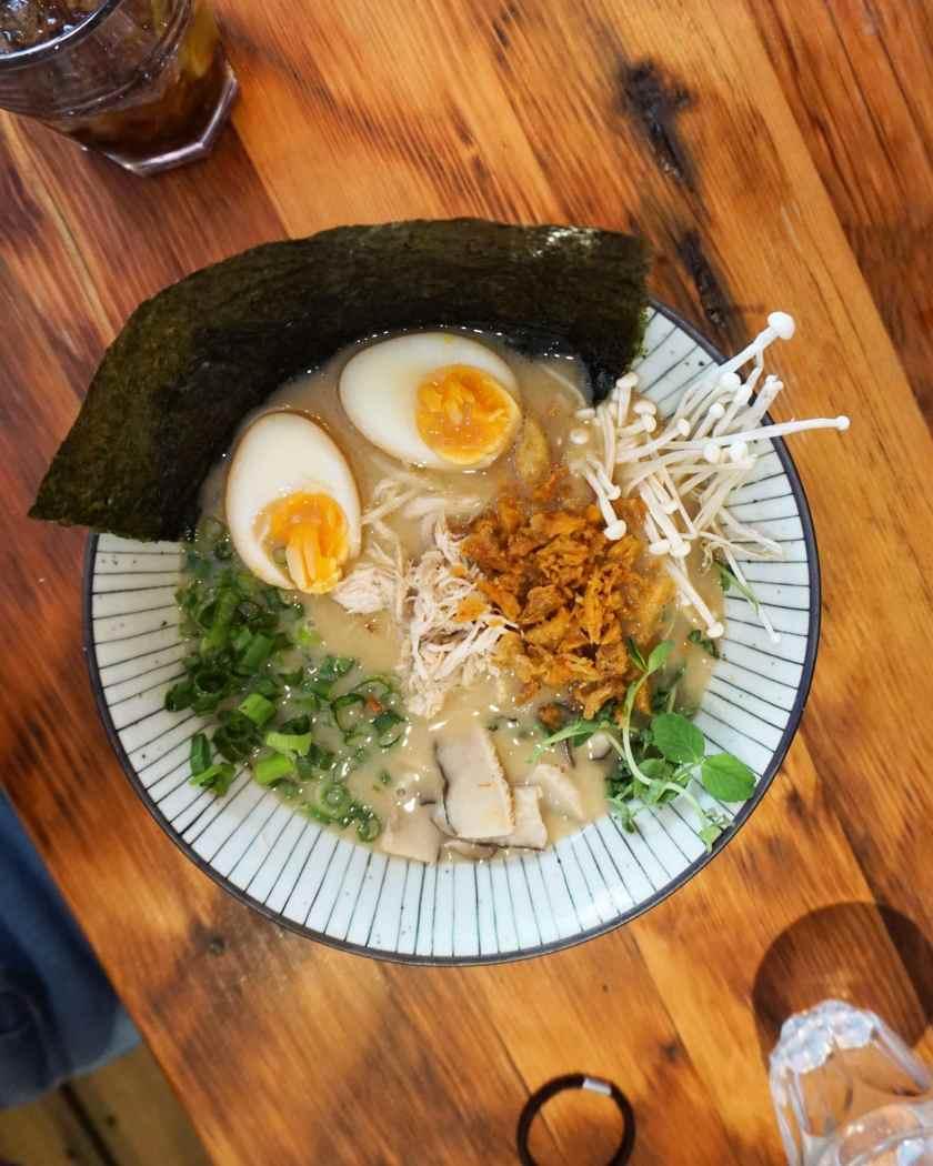 Chicken Sopa Ramen at Ramoramen