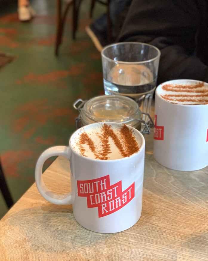 South Coast Roast Cafe Bournemouth Chai Latte