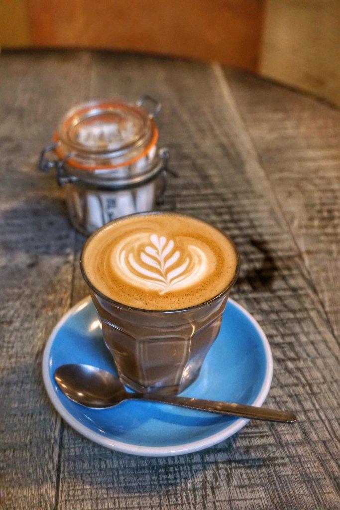 Cup of Latte at Eggbreak London
