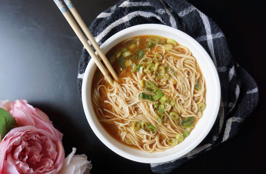 Miso Noodle Soup Recipe