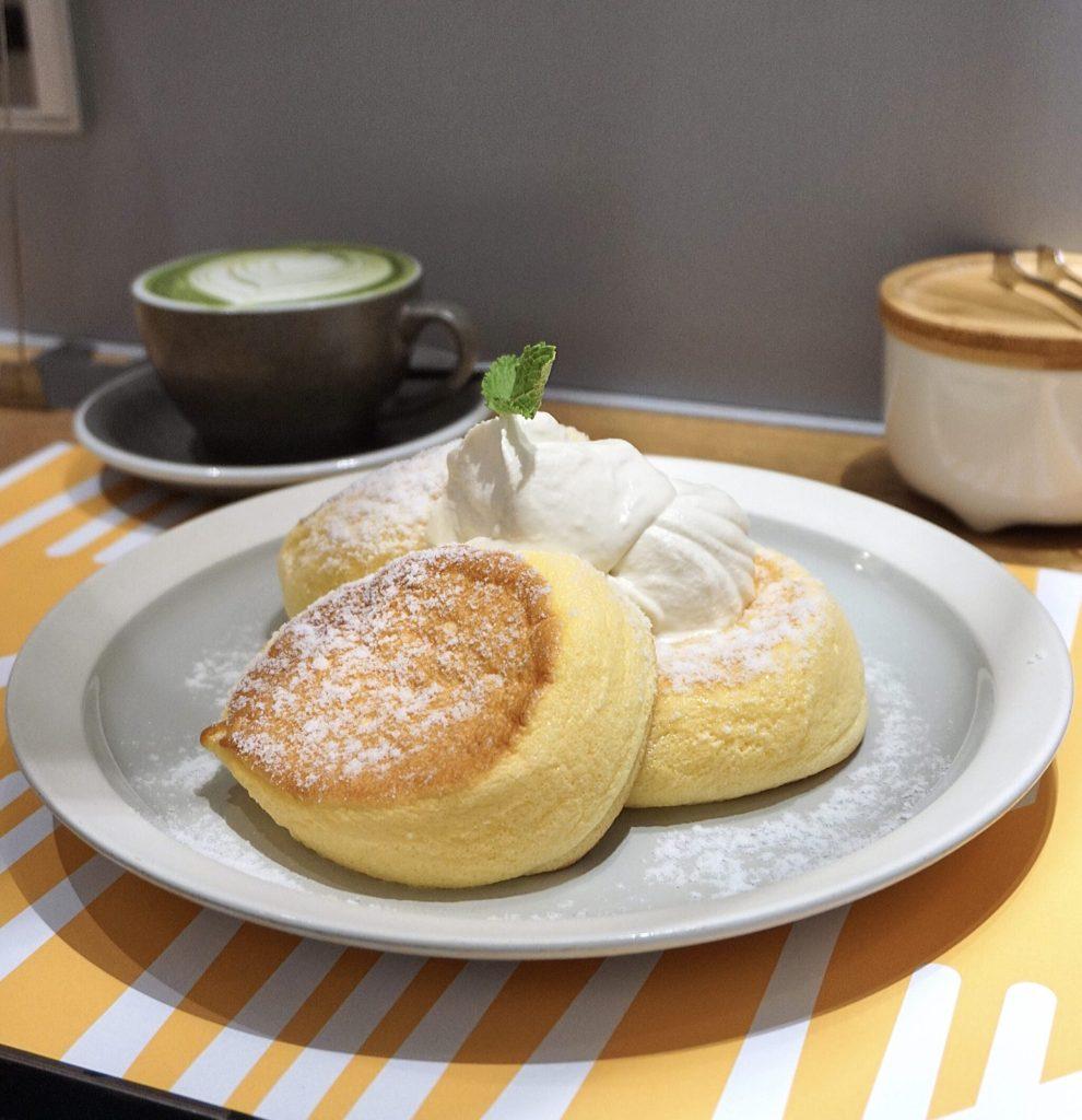 Classic Kiseki Japanese Souffle Pancakes at Flipper's Hong Kong