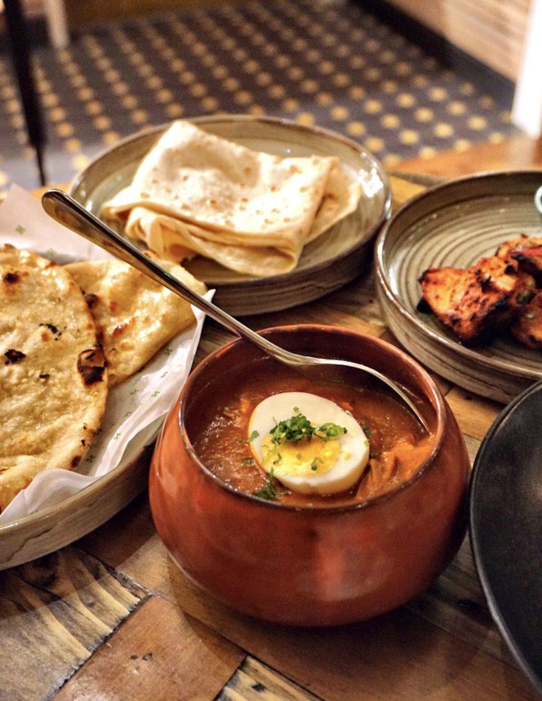 Chicken Bharta Curry at Copper Chimney
