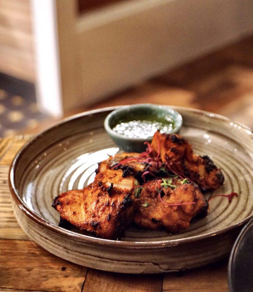 Grilled Chicken Tikka at Copper Chimney