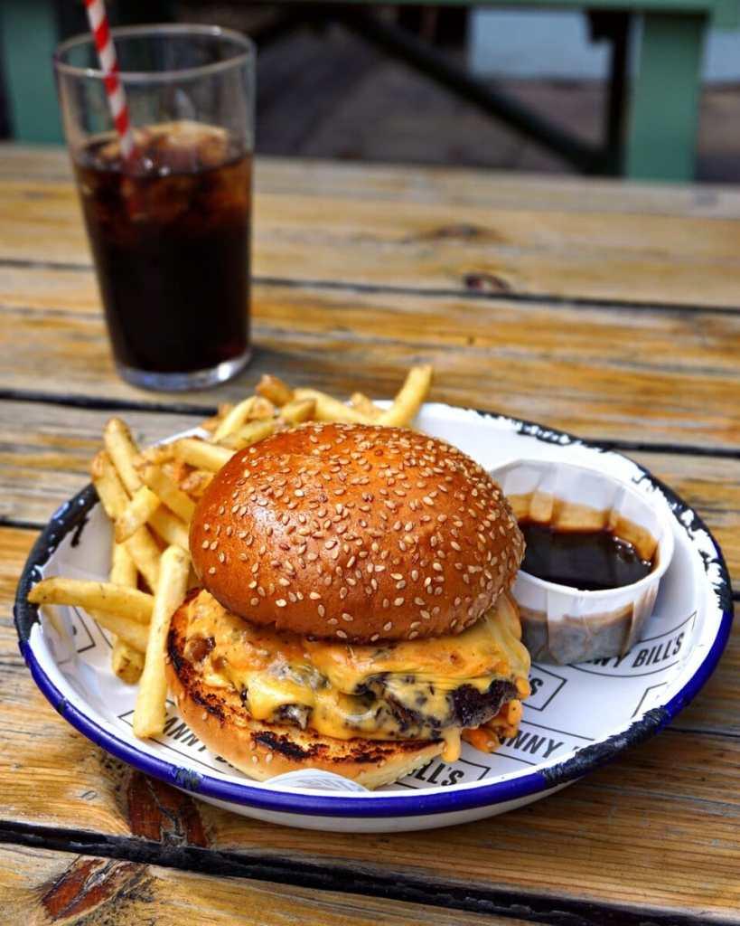 Nannybill's Dalston Dip Burger