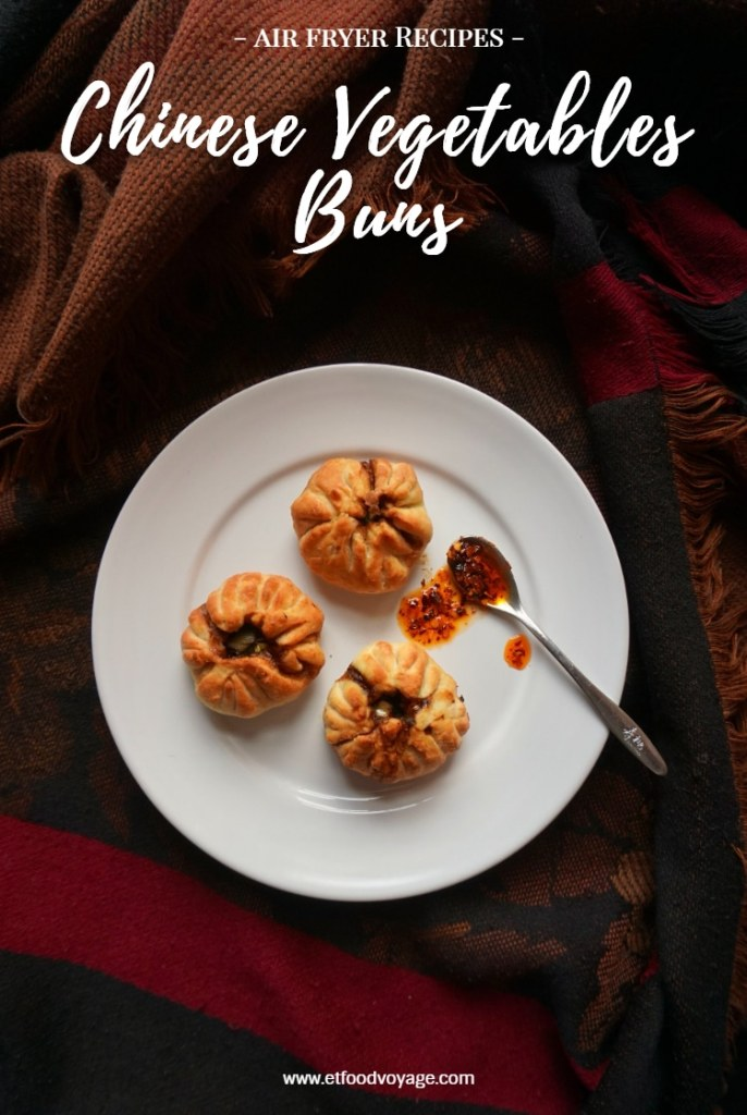 Air Fryer Chinese Vegetables Buns Recipe