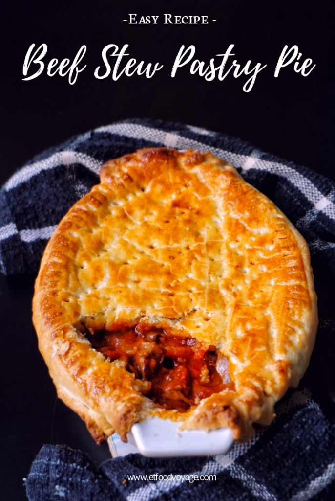 Beef Stew Pastry Pie Recipe