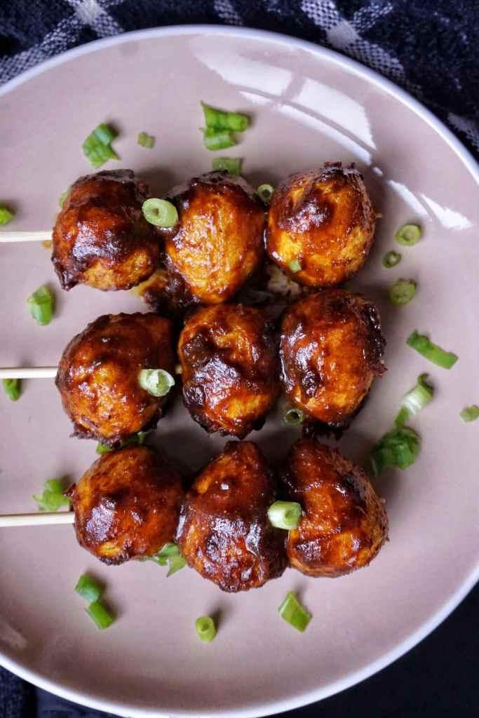 Hong Kong Street Food Style Curry Fish Balls