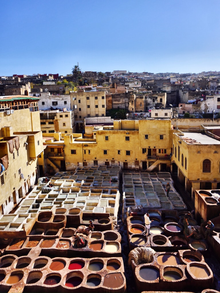 The Chouara Tannery at Fez