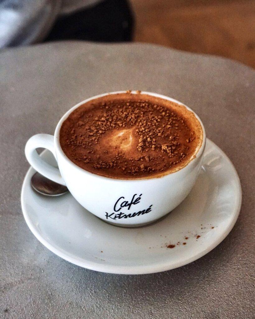Chai Latte at Cafe Kitsune