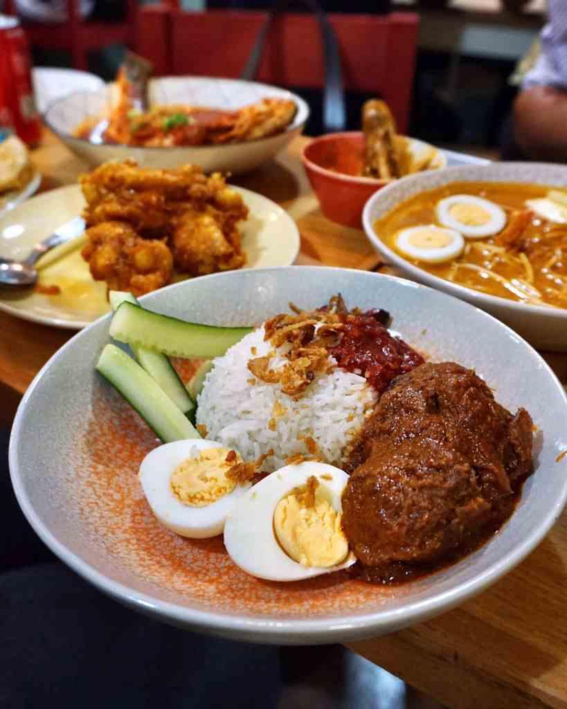 Beef Rendang Nasi Lemak at Normah's Place