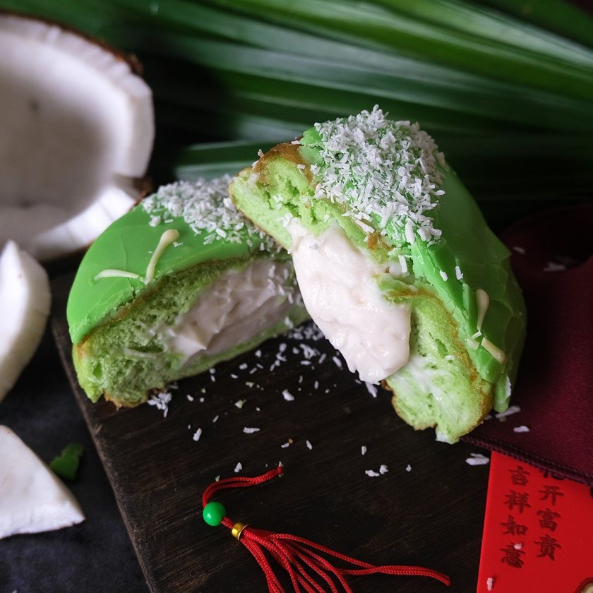 Chinese New Year Pandan Doughnut from Crosstown Doughnut