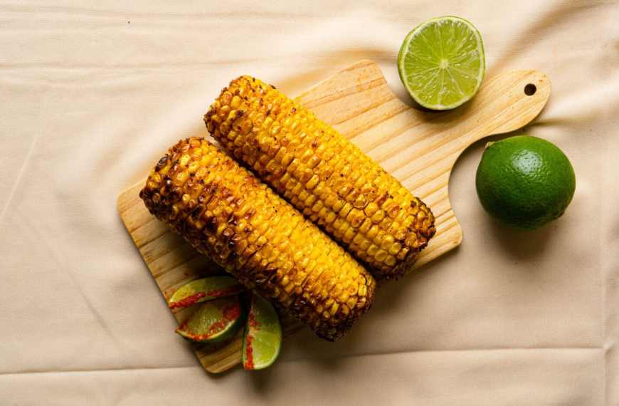 Air Fryer Roast Corn On The Cob Recipe