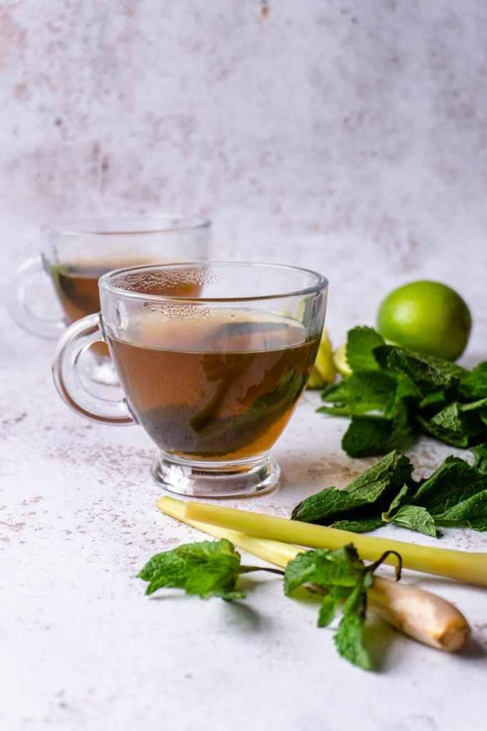 Lemongrass Mint Tea