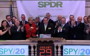 SSgA celebrates ground-breaking SPDR S&P 500 ETF (SPY)