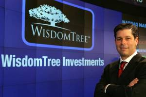 Profits rise at ETF bellwether WisdomTree