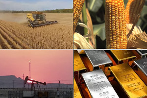 2018 target weights announced for Bloomberg Commodity Index