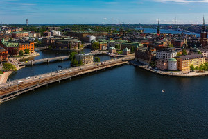 Stockholm Sweden OMXS 30 ETFs