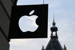 Apple stock split Dow Jones ETFs