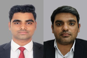 Varun Raju, Team Lead, Products, and Vaibhav Agarwal, Head of Products, Indxx.