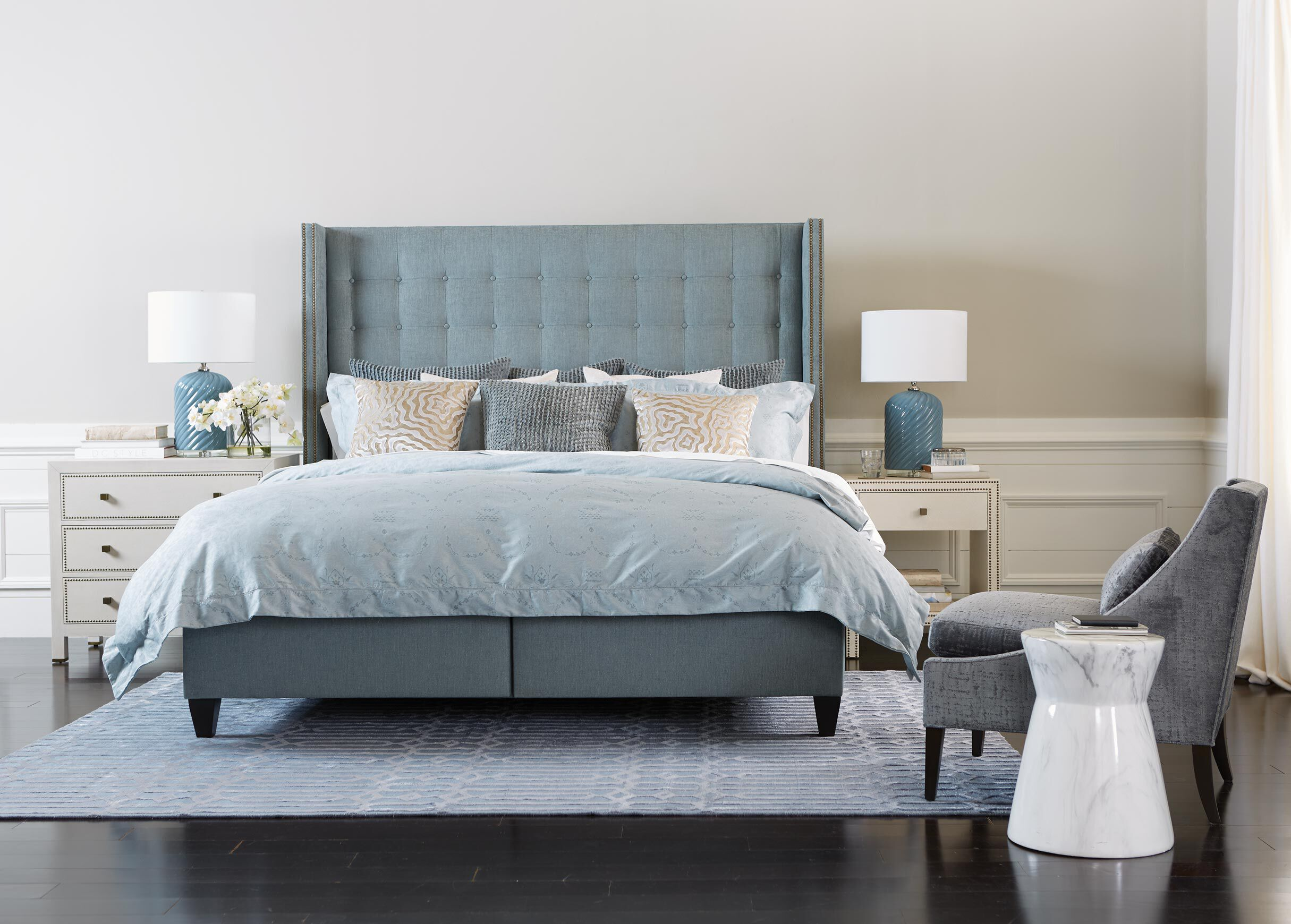 Colton Storage Bed With Tall Headboard Beds Ethan Allen