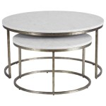 Bayless Marble Top Coffee Table Nesting Table Ethan Allen