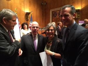 Rep. Waxman, not ashamed to take credit for the project he tried to kill and effectively delayed two decades.