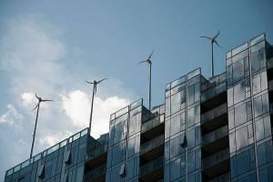 Nice wind turbines