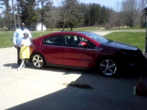 Erick Bellmer and his 200K mileage Chevy Volt